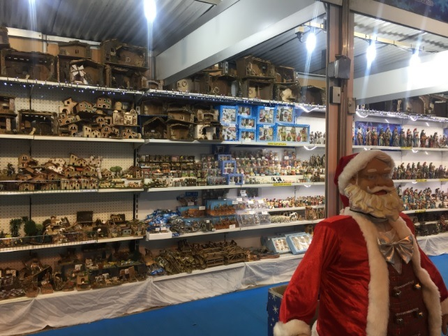Stand on the Christmas Market in Mallorca