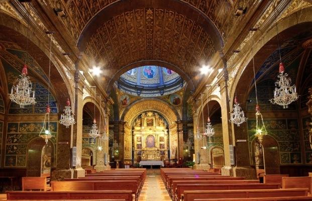 Sanctuary in Lluc inside