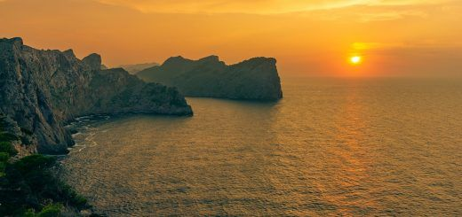 Sunset on Cap Formentor