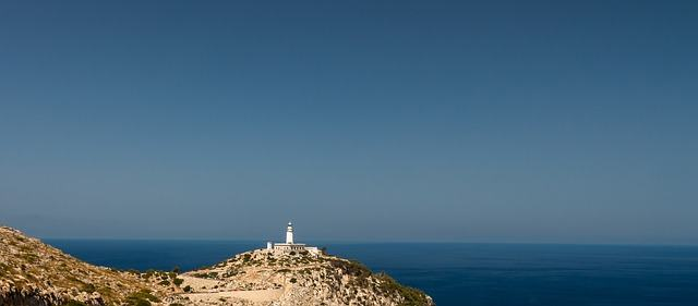 View of lighthouse on Cap Formentor