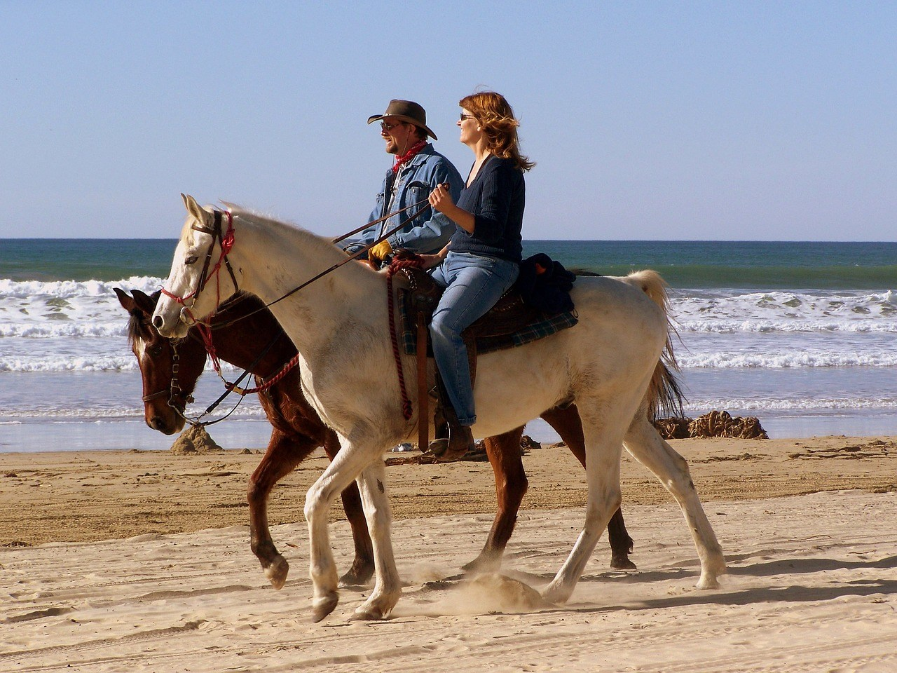 Horse Riding at the beach