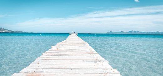 Pier in Alcudia Beach