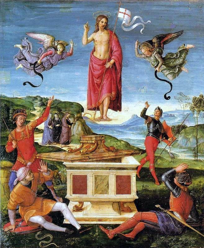 Resurrection of Christ by Santi