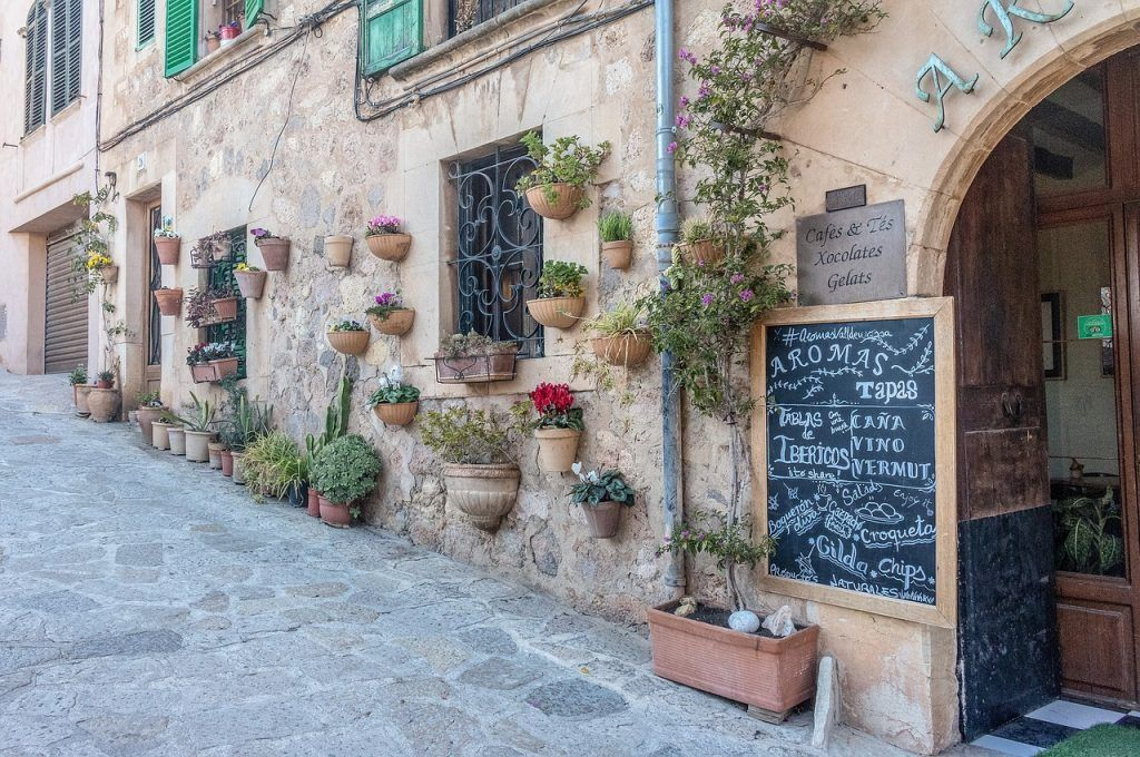 One of the street in Valldemossa