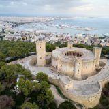 View of Bellver Castle in Palma de Mallorca