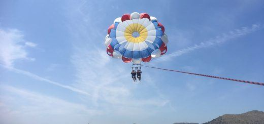 Parasailing - one of the best water sports in Alcudia
