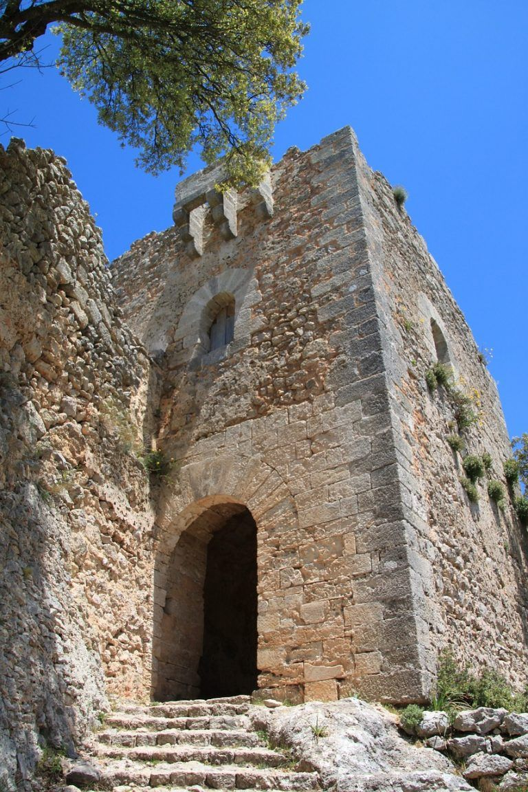 Ruins of Alaro Castle in Mallorca
